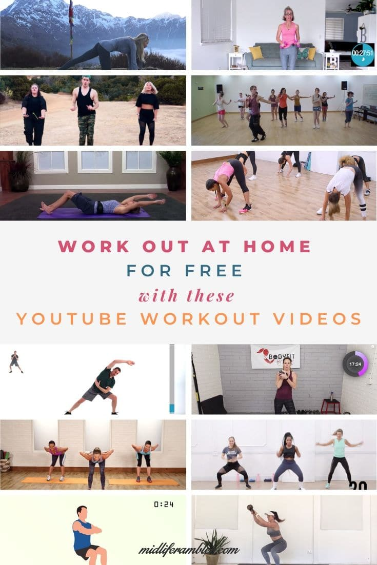 YouTube Workout Videos for women you can use at home