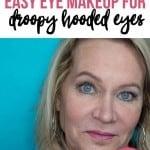 Easy One Eyeshadow Eye Makeup for Older Hooded Eyes 1