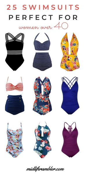 swimsuits for women over 40