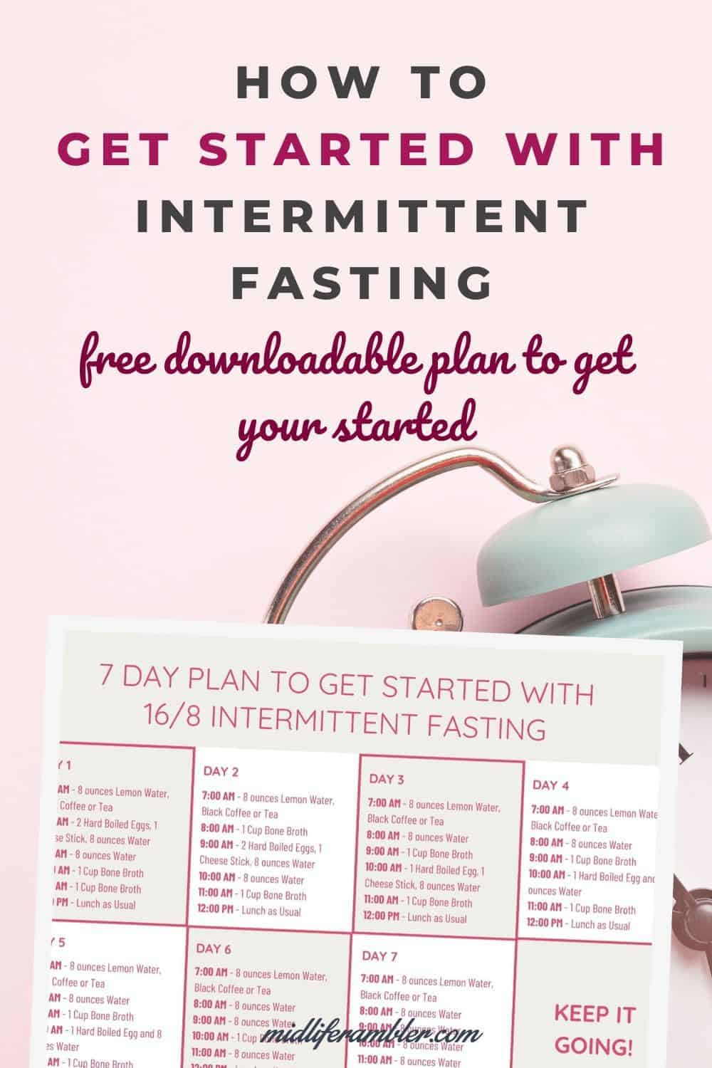Your 7-Day Plan to Get Started with Intermittent Fasting 9