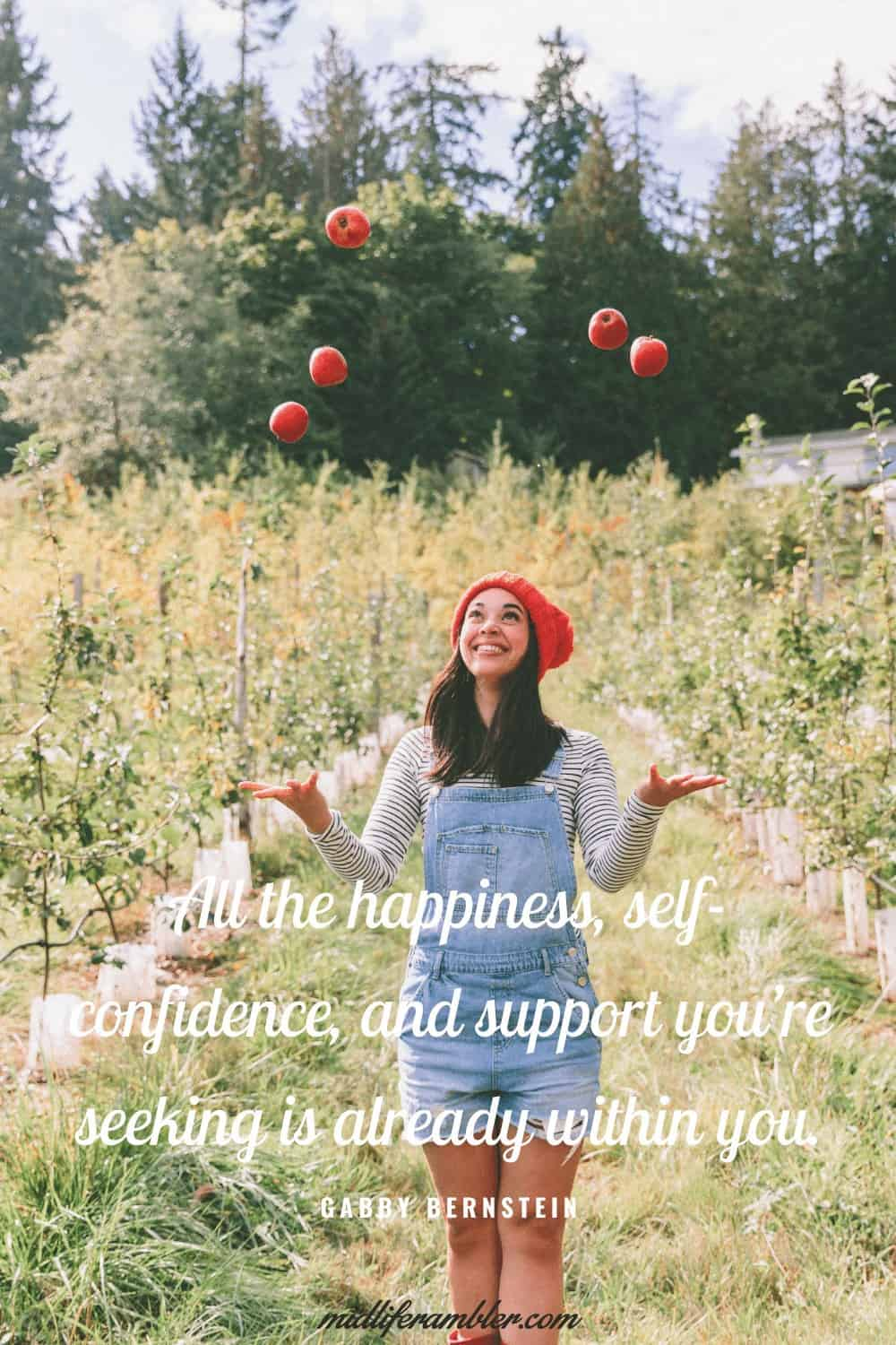 50 Self-Compassion Quotes and Affirmations to Help You Learn to Love and Accept Yourself - All the happiness, self-confidence, and support you're seeking is already within you. – Gabby Bernstein