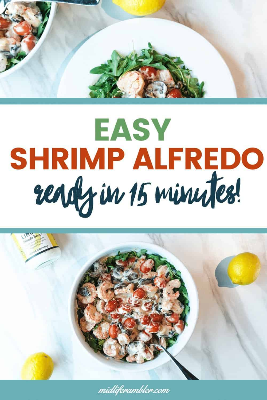 Trader Joe's Limone Alfredo Sauce - Lemon Shrimp Alfredo