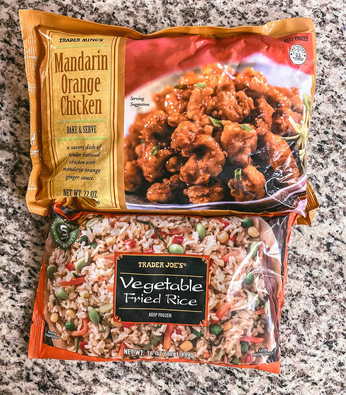 The Easiest Trader Joe's Meal of All Time: Easy Mandarin Orange Chicken Fried Rice 1