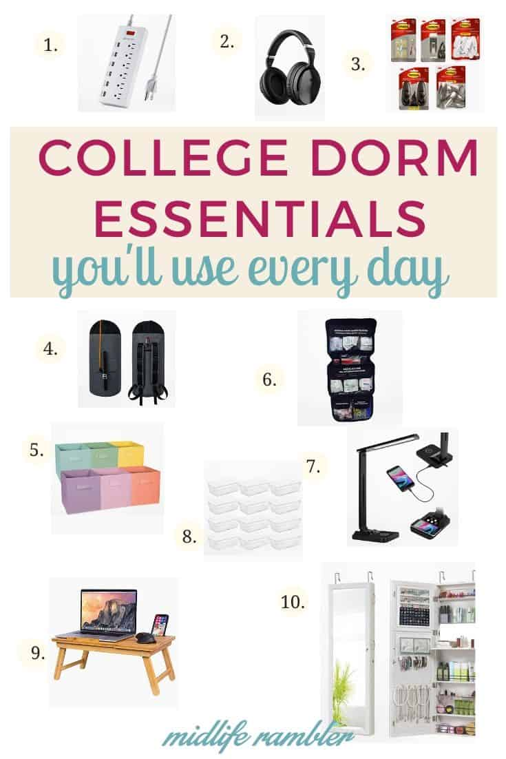 10 College Dorm Essentials You Need that Even a Total Minimalist Will Use 13