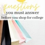 25 Questions You Need to Answer Before You Go Dorm Room Shopping 1