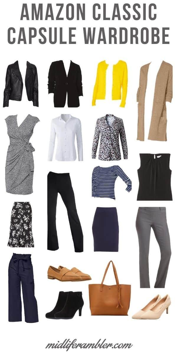 18 Piece Business Casual Amazon Capsule Wardrobe 7