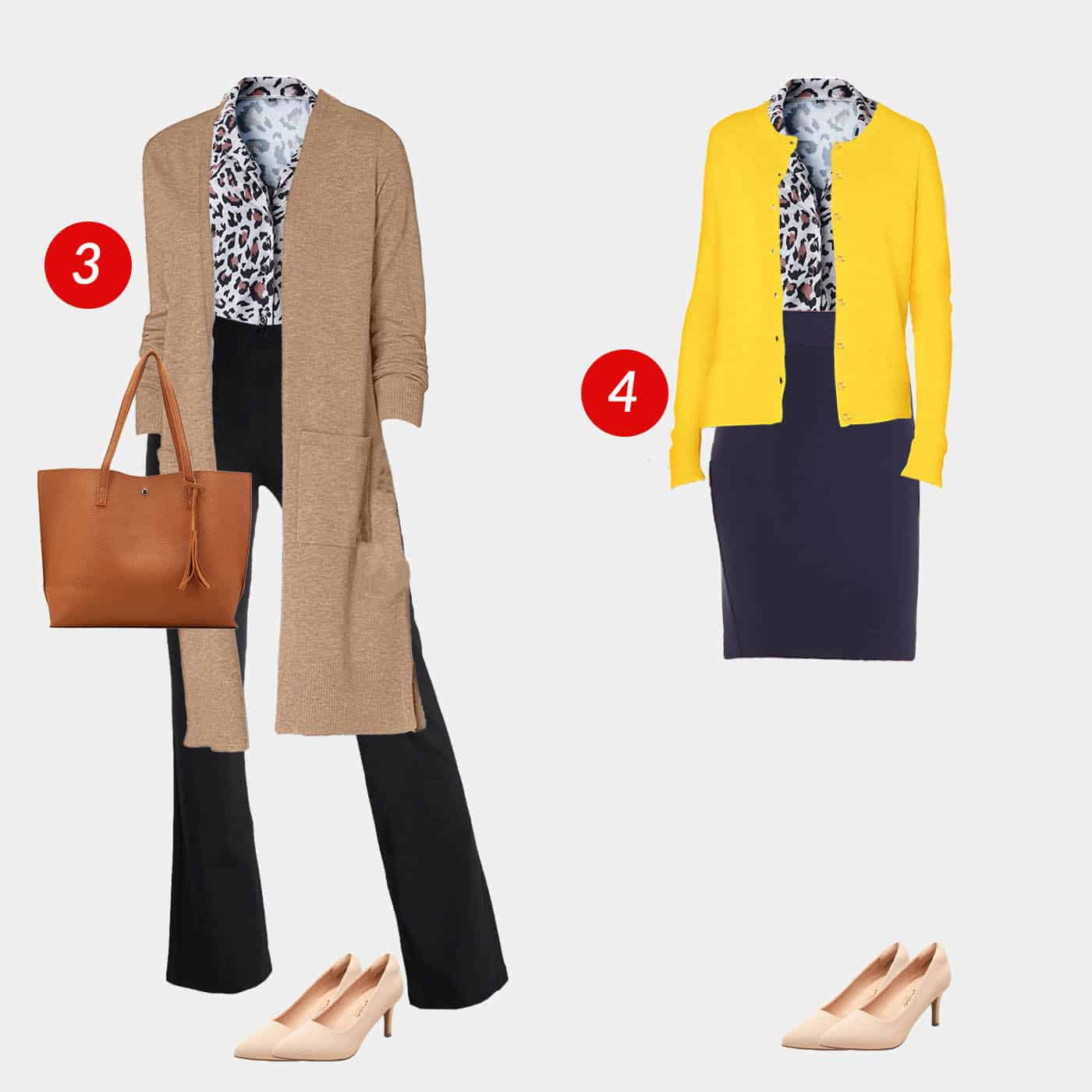 18 Piece Business Casual Amazon Capsule Wardrobe 3