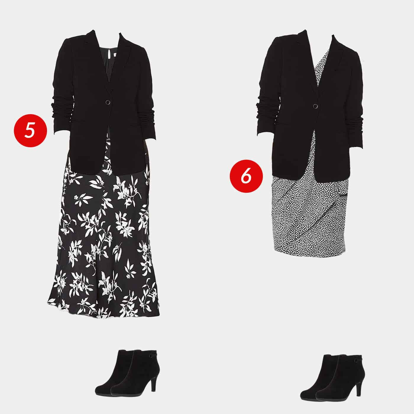 18 Piece Business Casual Amazon Capsule Wardrobe 4