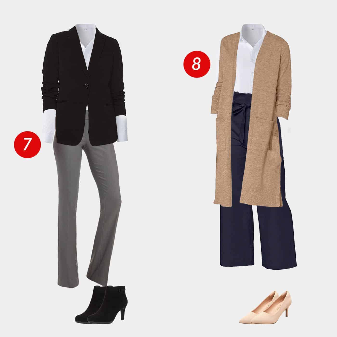 18 Piece Business Casual Amazon Capsule Wardrobe 5