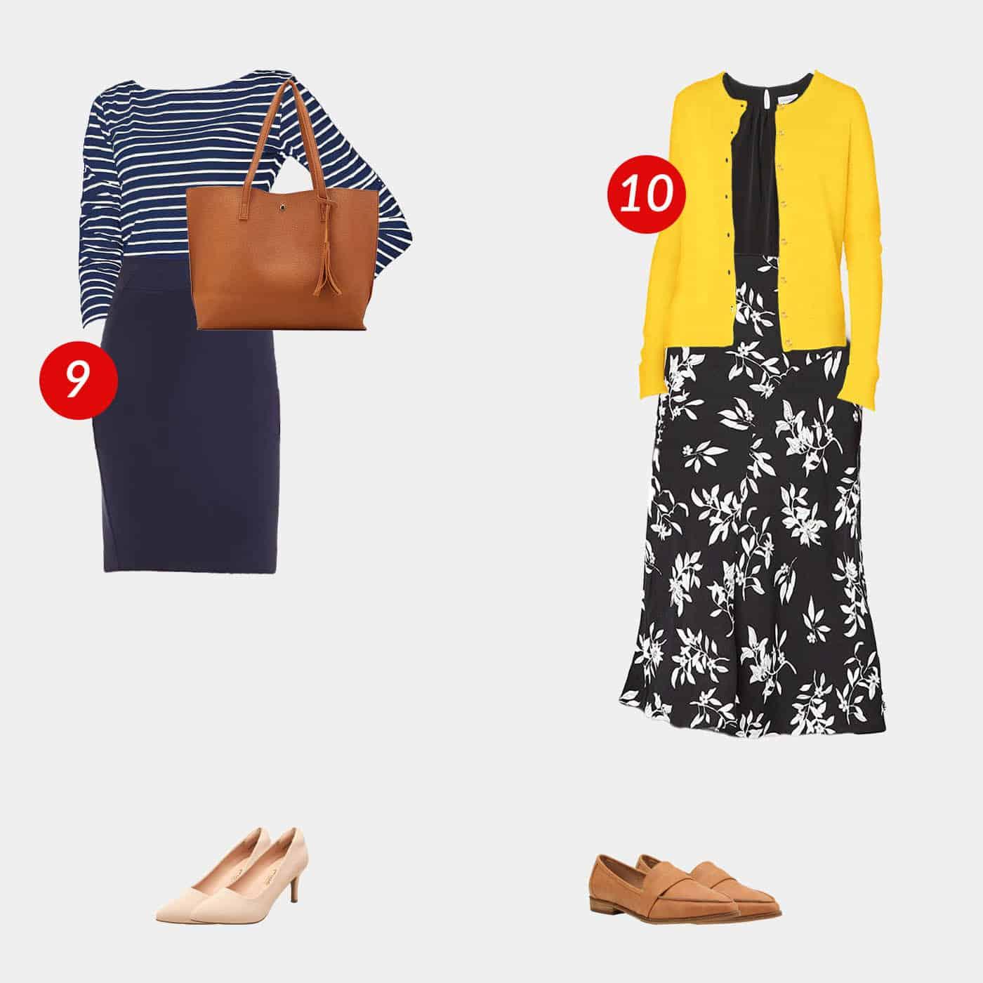 18 Piece Business Casual Amazon Capsule Wardrobe 6