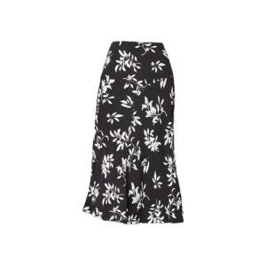 Women's Floral Midi Skirt