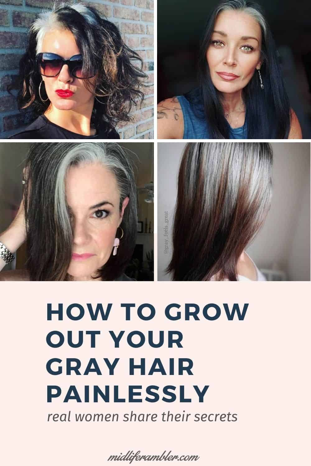 25 Women Going Gray Gracefully Who Will Inspire You to Quit Dying Your Hair 25