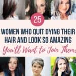 25 Women Going Gray Gracefully Who Will Inspire You to Quit Dying Your Hair 1