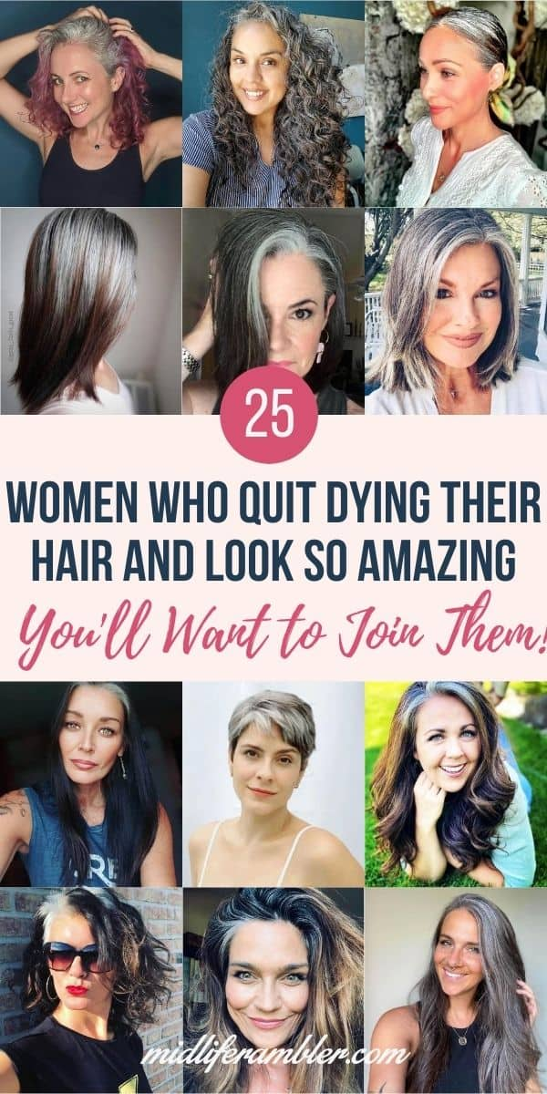 25 Women Going Gray Gracefully Who Will Inspire You to Quit Dying Your Hair 26
