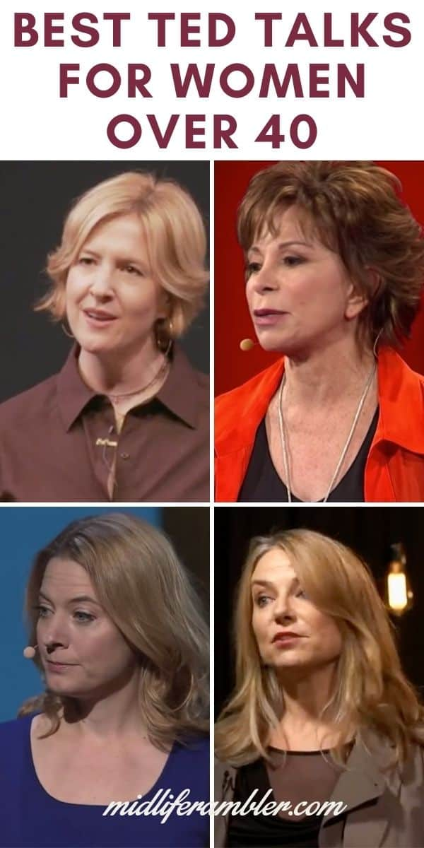 15 Ted Talks for Women Over 40 You Have to See 6