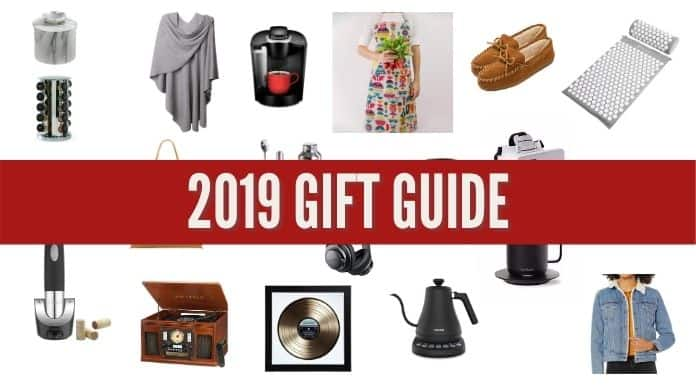 2019 Holiday Christmas Gift Guide Heading