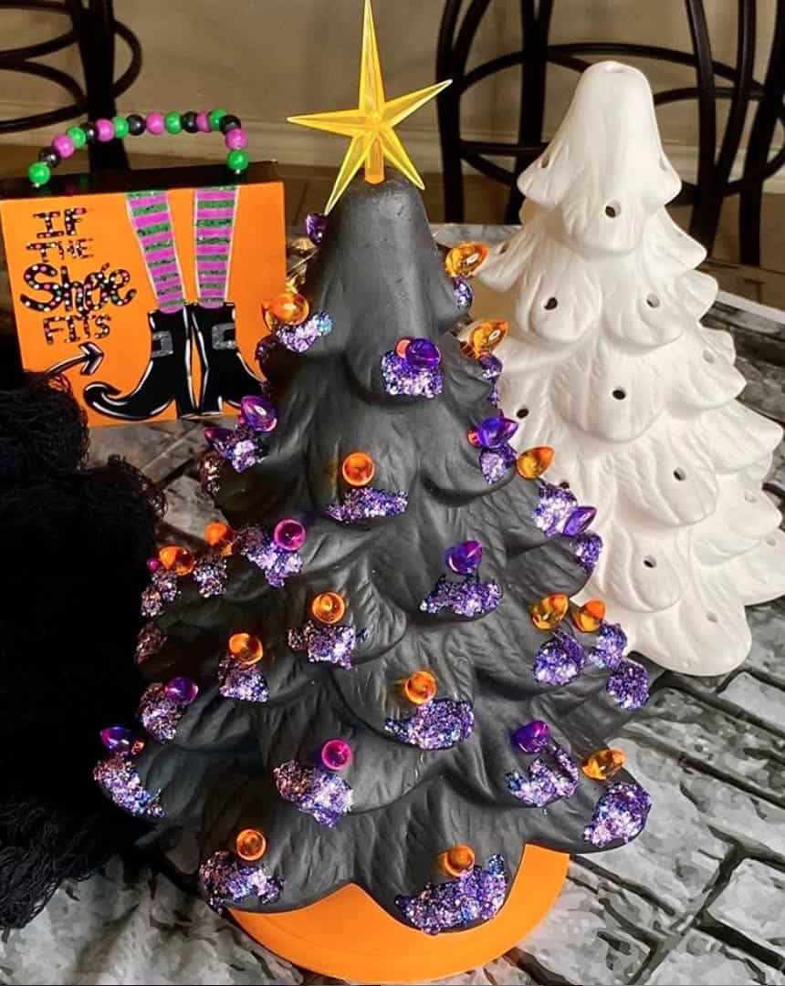 25 Halloween Trees That Will Convince You To Put Your Christmas Tree Up Today Midlife Rambler