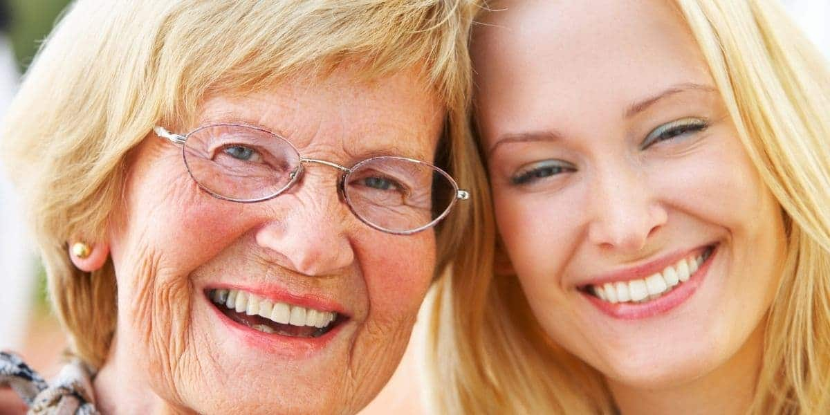 Grandmother and Daughter - the Benefits of a gratitude letter