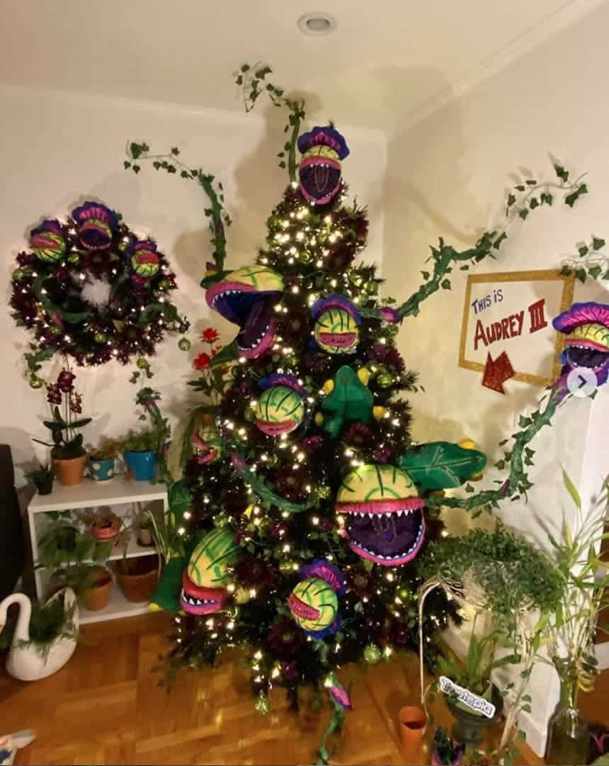 Little Shop of Horrors Halloween Tree