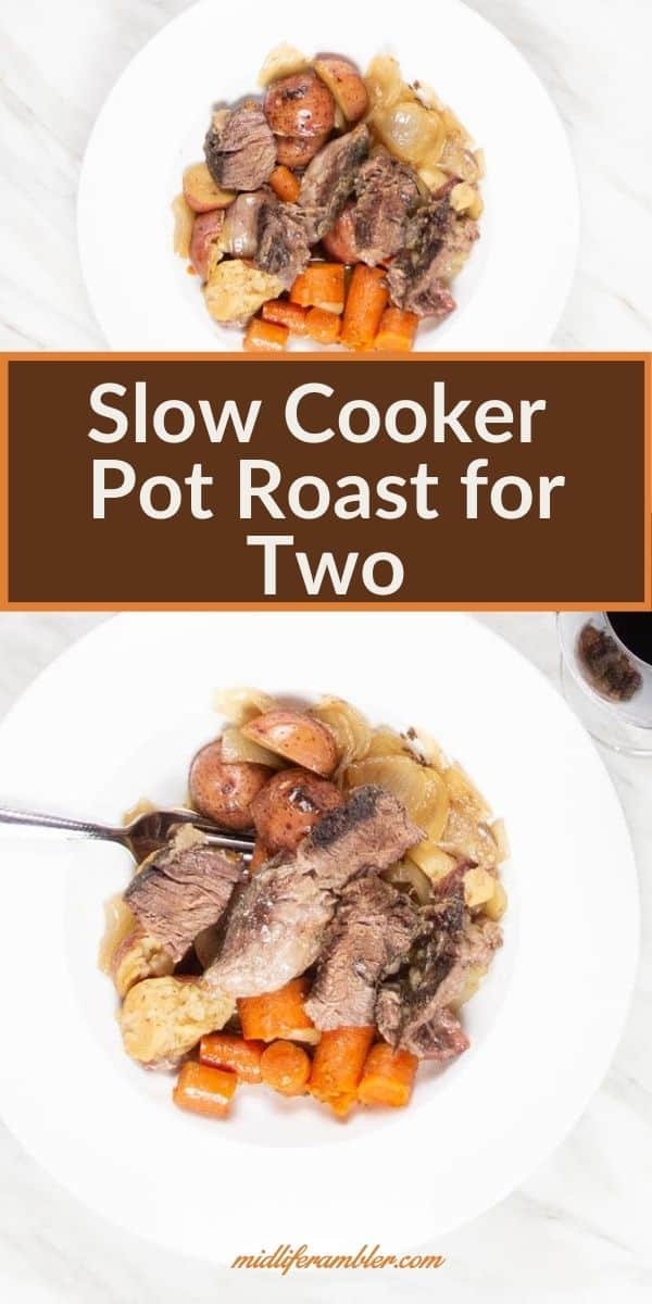 Slow Cooker Pot Roast for Two 8