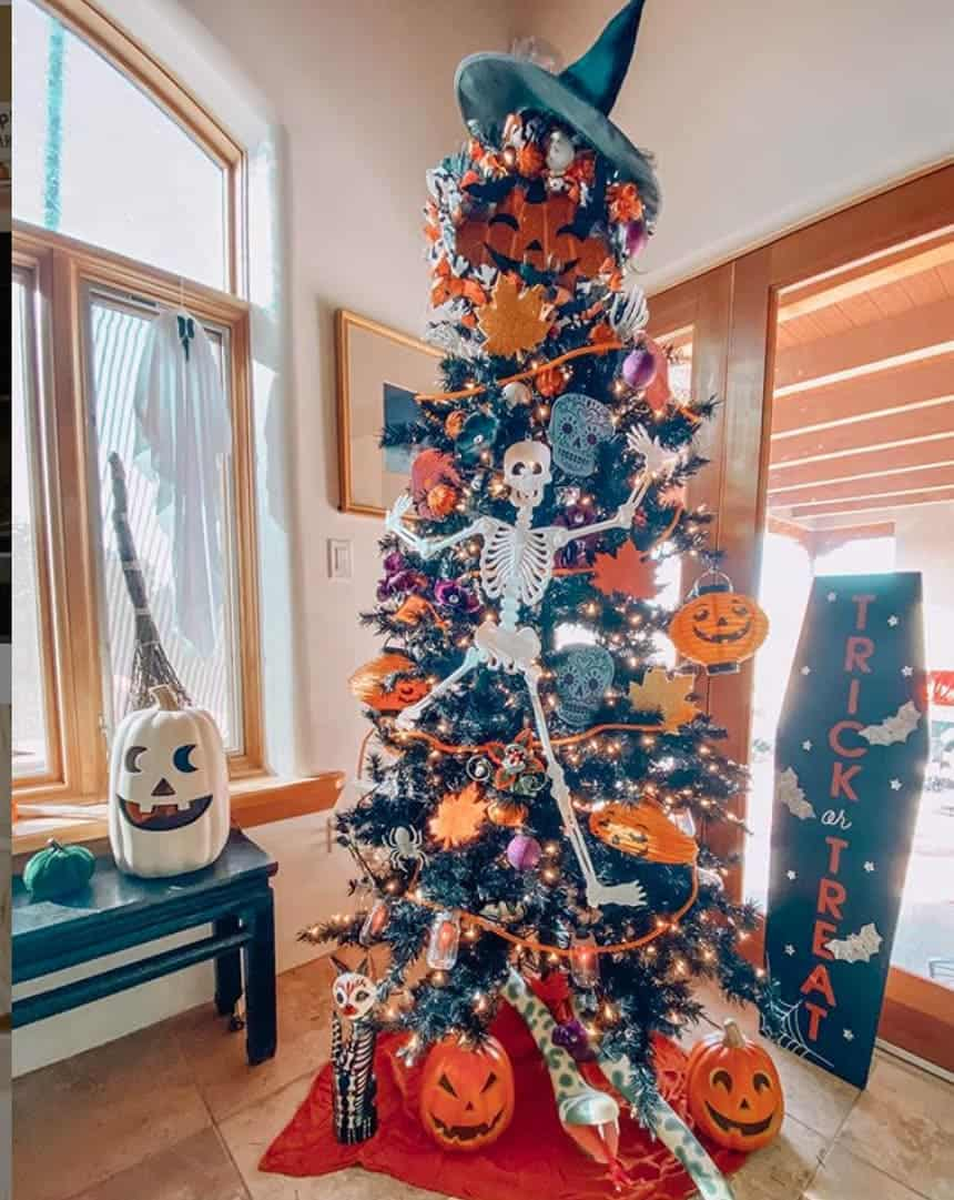 The Witching Hour Halloween Tree