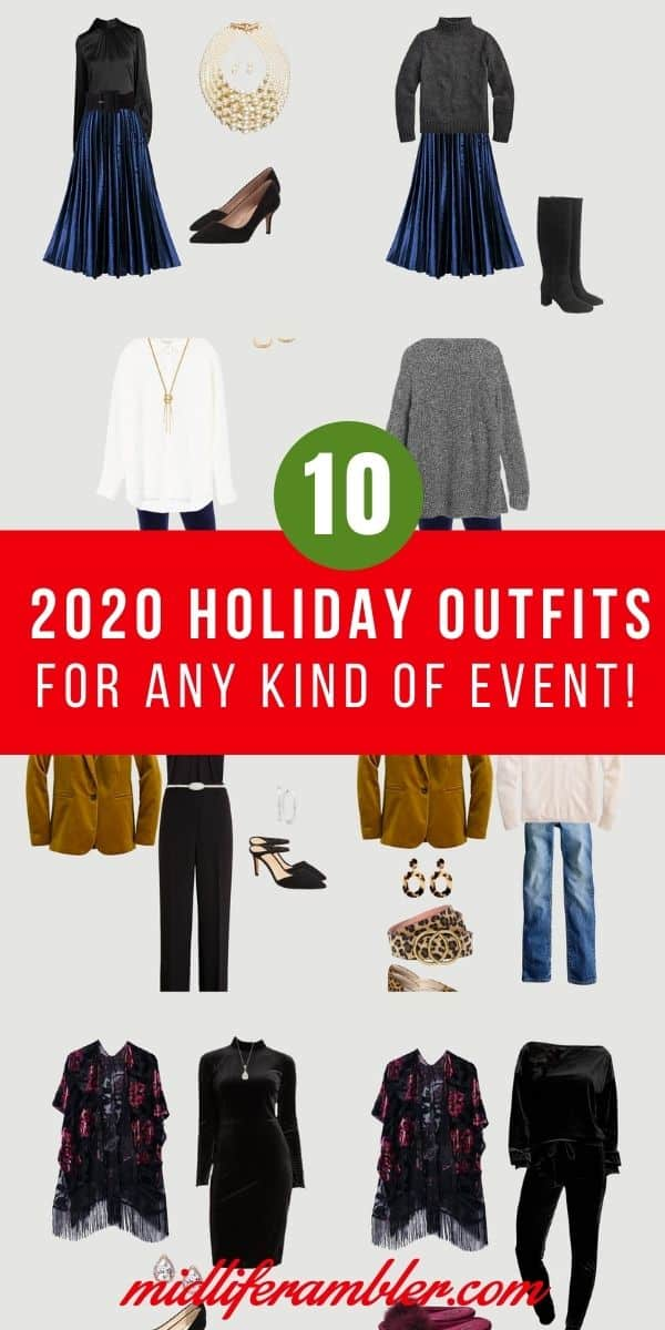 Ten Holiday Outfits You'll Love No Matter What You're Planning for the 2020 Holiday 11