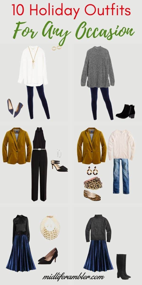 Ten Holiday Outfits You'll Love No Matter What You're Planning for the 2020 Holiday 12