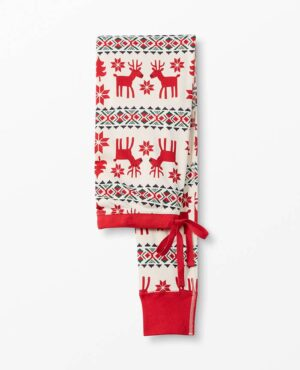 Hanna Andersson Organic Cotton Long John Pajama Pants