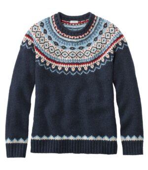 L.L.Bean Classic Ragg Wool Sweater