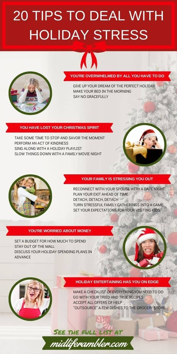 20 Tips for Handling Holiday Stress 28