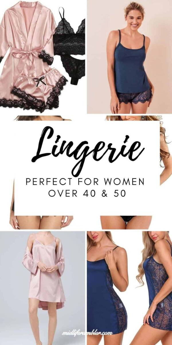 15 Pieces of Lingerie for Older Women You'll Feel Beautiful Wearing 1